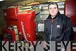 Donagh Crowley, Beaufort, manager Lely dairy products, with the Atrronaut A3 robotic milking machine on his family farm in Beaufort...