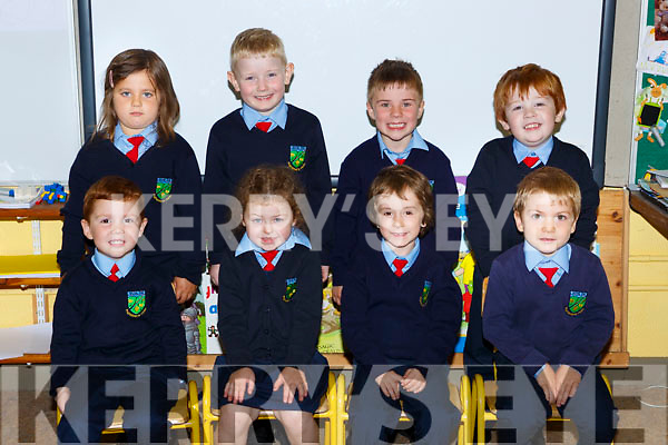 Curranes NS Castleisland junior infanats on Monday front row l-r: Liam Stack, Alana Walmsley, Liam Reidy, Liam Quirke, Back row: Natalia Noga, Connie Brosnan, Cillian Murphy and Sean Brook