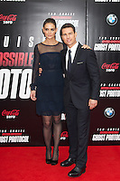 Red carpet arrivals to th U.S. premiere of Mission: Impossible Ghost Protocol at The Ziegfeld Theatre in New York City on December 19, 2011.