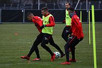 Ante Rebic (Eintracht Frankfurt), Aymen Barkok (Eintracht Frankfurt) - 05.12.2017: Eintracht Frankfurt Training, Commerzbank Arena