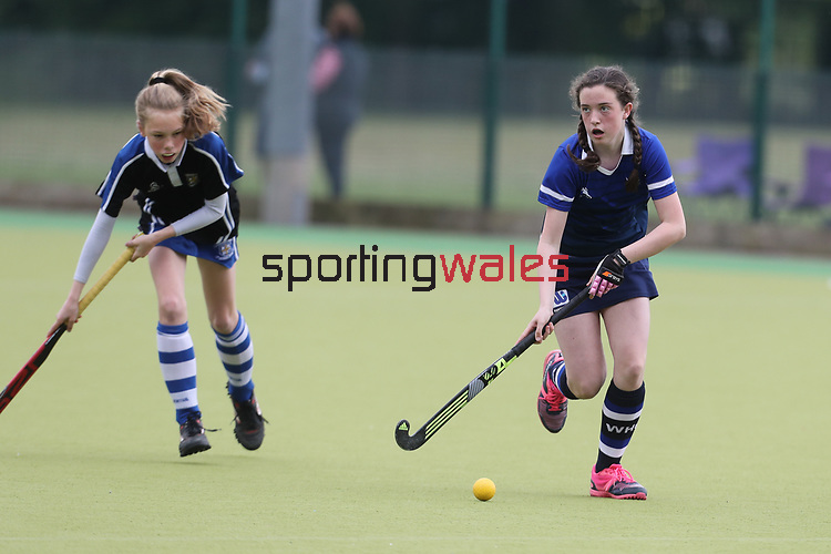 Welsh Youth Hockey Cup Final U13 Girls<br /> Whitchurch v Dysynni<br /> Swansea University<br /> 06.05.17<br /> ©Steve Pope - Sportingwales