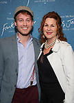 """Daniel Dunlow and Dale Franzen attends The """"Frankie and Johnny in the Clair de Lune"""" - Opening Night Arrivals at the Broadhurst Theatre on May 29, 2019  in New York City."""