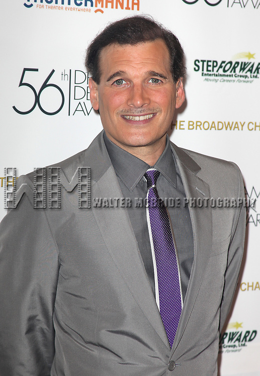 Phillip Bloch.attending the 56th Annual Drama Desk Awards Arrivals at Hammerstein Ballroom in New York City.