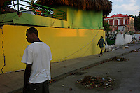 Jacmel, Haiti, Jan 20, 2010.Jacmel is one of the most traditional of Haiti cities, its colonial architecture was renown for its authenticity and beauty; the damge from the earthquake to the historical landmarks is quite extensive..