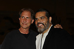Parker Stevenson (Falcon Crest and Melrose Place) poses with Oz's Jose Hernandez, at Chiller Theatre's Spring Spooktacular on the weekend of April 27-29 at the Hilton Parsippany in Parsippany, New Jersey. (Photo by Sue Coflin/Max Photos)