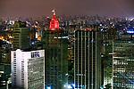 Noite na cidade, centro de Sao Paulo. 2018. Foto de Juca Martins.