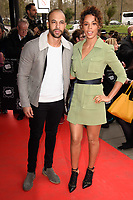 Marvin and Rochelle Humes<br /> arriving for TRIC Awards 2018 at the Grosvenor House Hotel, London<br /> <br /> ©Ash Knotek  D3388  13/03/2018