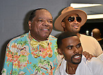 MIAMI, FL - MAY 29: John Witherspoon, Lil Duval and backstage at the 9th Annual Memorial Weekend Comedy Festival at James L Knight Center on May 29, 2016 in Miami, Florida. ( Photo by Johnny Louis / jlnphotography.com )