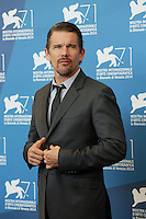 Venice, Italy - September 05: Ethan Hawke attends the 'NGood Kill' photocall at Palazzo Del Cinema, during the 71st Venice Film Festival on September 05, 2014 in Venice, Italy. (Photo by Mark Cape/Inside Foto)<br /> Venezia, Italy - September 05: Ethan Hawke presente al photocall di 'Good Kill' al Palazzo Del Cinema, durante del 71st Venice Film Festival. Settenbre 05, 2014 Venezia, Italia. (Photo by Mark Cape/Inside Foto)