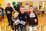 The Dromtrasna Challenge 2019 charity run was held last Saturday morning in aid of Milford Care Centre and St. Ita's Day Care Centre, Abbeyfeale. Pat Fitzgerald from Castleisland with his sons Josh & Noah.