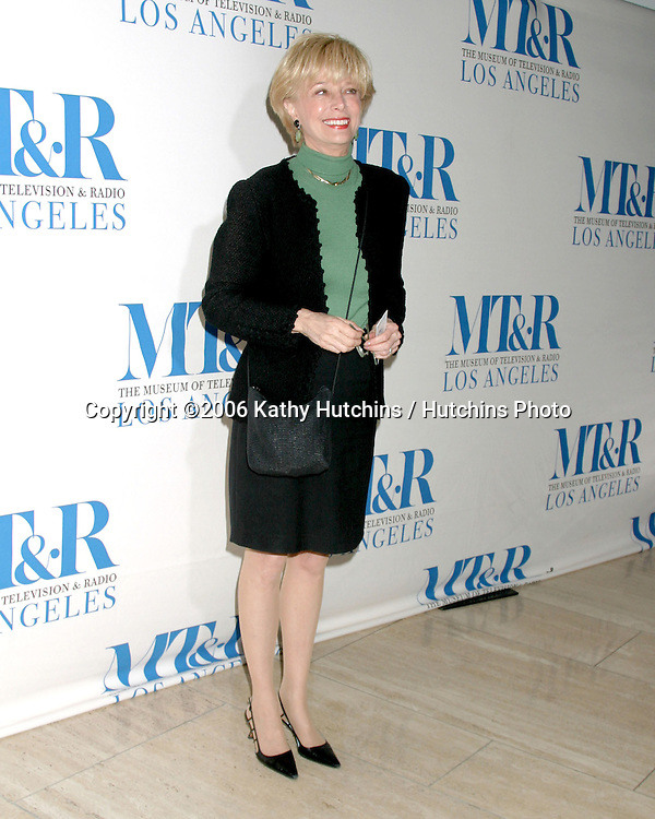 "Leslie Stahl.""She Made It"" Event.Museum of Television & Radio.Beverly Hills, CA.December 5, 2006.©2006 Kathy Hutchins / Hutchins Photo."