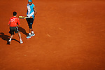 Roland Garros. Paris, France. June 2nd 2007..3rd Round..Rafael NADAL against Albert MONTANES.