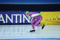 SCHAATSEN: HEERENVEEN: 19-11-2016, IJsstadion Thialf, KNSB trainingswedstrijd, Lennart Velema, ©foto Martin de Jong