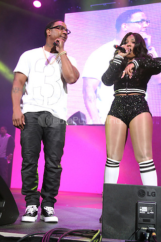 NEW YORK, NY - OCTOBER 17, 2014<br /> <br /> Ja Rule &amp; Ashanti perform at the Def Jam 30 Anniversary Client at The Barclays Center, October 16, 2014 in New York City.<br /> <br /> <br /> &copy; Walik Goshorn / MediaPunch