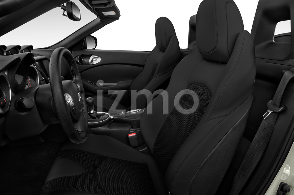 Front seat view of a 2019 Nissan 370Z  Touring  2 Door Convertible front seat car photos