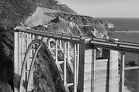 Bixby Creek Bridge. Big Sur coast. California.