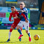 23.02.2020 St Johnstone v Rangers: James Tavernier and Stevie May