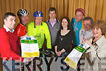 Minister Jimmy Deenihan with friends of the Brothers of Charity Listowel and Newcastle West at the launch of a charity cycle to take place on Easter Monday, pictured here last Saturday in The Gables, Athea. F l-r: Paul Collins, Dick McElligott, Jimmy Deenihan, Mike Sheehan(Brothers of Charity-Newcastle West), Yvonne O'Connor, Seamus Ahern, Sean Aherne and Hannah Carmody(Brothers of Charity-Listowel).