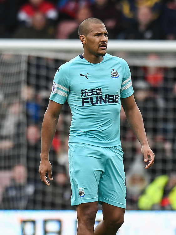 Newcastle United's Jose Salomon Rondon<br /> <br /> Photographer David Horton/CameraSport<br /> <br /> The Premier League - Bournemouth v Newcastle United - Saturday 16th March 2019 - Vitality Stadium - Bournemouth<br /> <br /> World Copyright © 2019 CameraSport. All rights reserved. 43 Linden Ave. Countesthorpe. Leicester. England. LE8 5PG - Tel: +44 (0) 116 277 4147 - admin@camerasport.com - www.camerasport.com