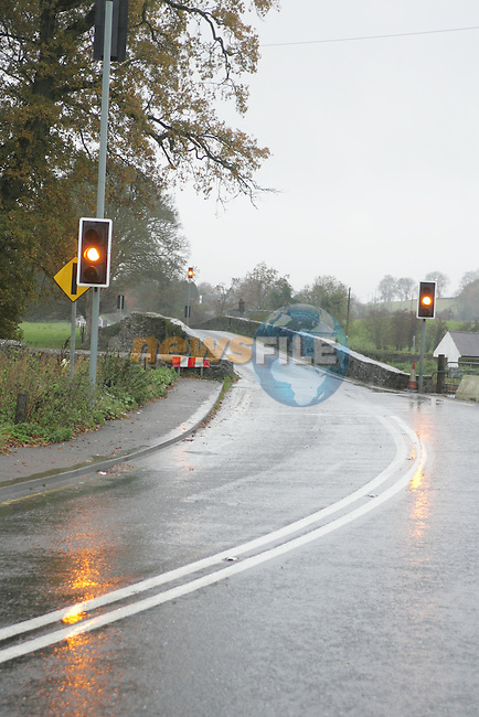 The N52 from Kells to Ardee the Lights on Amber.Photo: Fran Caffrey/ Newsfile.(Photo caption should read  Fran Caffrey/Newsfile)..<br />