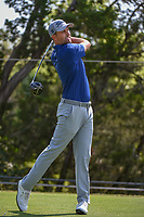 Webb Simpson (USA) watches his tee shot on 2 during day 1 of the WGC Dell Match Play, at the Austin Country Club, Austin, Texas, USA. 3/27/2019.<br /> Picture: Golffile | Ken Murray<br /> <br /> <br /> All photo usage must carry mandatory copyright credit (© Golffile | Ken Murray)