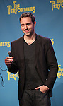 """Playwright David West Read attends press event to introduce the cast and creators of the new Broadway play """"The Performers""""at the Hard Rock Cafe on Tuesday, Sept. 25, 2012 in New York."""
