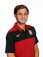 Stanford, CA -- November 13, 2018: Stanford Men's Tennis photo day.