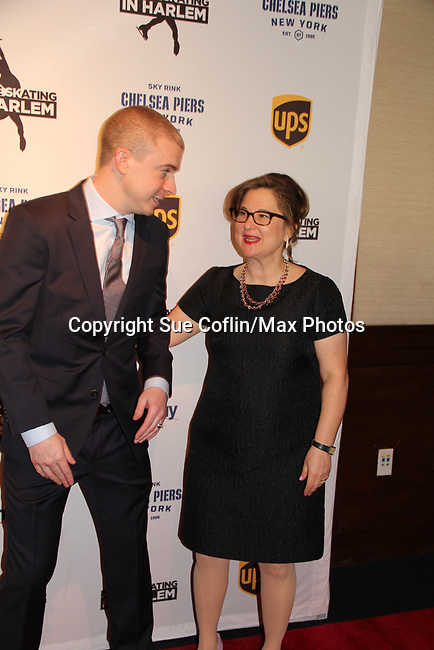 Timothy Goebel & Sharon Cohen - Figure Skating in Harlem presents Champions in Life Benefit Gala on April 29, 2019 at Chelsea Pier, New York City, New York - (Photo by Sue Coflin/Max Photos)