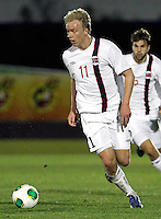 Norway's Nielsen during an International sub21 match. March 21, 2013.(ALTERPHOTOS/Alconada) /NortePhoto