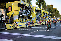 Caleb Ewan (AUS/Lotto Soudal) wins his 3th stage of this Tour on the final stage into Paris on the Champ-Elyséés<br /> <br /> Stage 21: Rambouillet to Paris (128km)<br /> 106th Tour de France 2019 (2.UWT)<br /> <br /> ©kramon