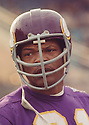 Minnesota Vikings Carl Eller (81) during a game from his career against the Cleveland Browns. Carl Eller played for 16 seasons with 3 different team, was a 6-time Pro Bowler and was inducted into the Pro Football Hall of Fame in 2004.(SportPics)