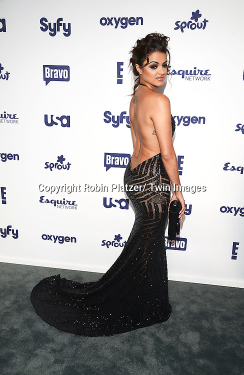 cast of Shahs of Sunset, Golnesa&quot; GG&quot; Gharachedaghi attend the NBCUniversal Cable Entertainment Upfront <br /> on May 15, 2014 at The Javits Center North Hall in New York City, New York, USA.