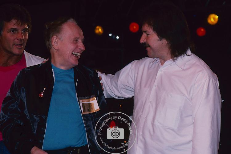 Seymour Duncan , Les Paul at  Namm- jan 1987