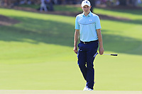 Matthew Fitzpatrick (ENG) walks to the 18th green during Friday's Round 2 of the 2017 PGA Championship held at Quail Hollow Golf Club, Charlotte, North Carolina, USA. 11th August 2017.<br /> Picture: Eoin Clarke | Golffile<br /> <br /> <br /> All photos usage must carry mandatory copyright credit (&copy; Golffile | Eoin Clarke)