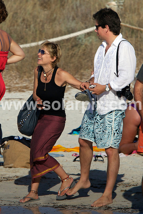 **ALL ROUND PICTURES FROM SOLARPIX.COM**                                             **WORLDWIDE SYNDICATION RIGHTS EXCEPT SPAIN - NO SYNDICATION IN SPAIN**                                                                                  Caption: Spanish aristocrat and socialite Eugenia Martínez de Irujo, the 12th Duchess of Montoro, enjoys a short break on the spanish island of Formentera                                                                              This pic: Eugenia Martínez de Irujo                                                                                             JOB REF: 13730 DGM       DATE: 16_07_2011                                                           **MUST CREDIT SOLARPIX.COM OR DOUBLE FEE WILL BE CHARGED**                                                                      **MUST AGREE FEE BEFORE ONLINE USAGE**                               **CALL US ON: +34 952 811 768 or LOW RATE FROM UK 0844 617 7637**