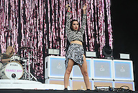CHARLI XCX performs on the Main Stage during The New Look Wireless Music Festival at Finsbury Park, London, England on Sunday 05 July 2015. Photo by Andy Rowland.