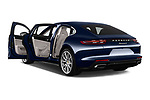 Car images close up view of a 2018 Porsche Panamera 4 E-Hybrid 4 Door Sedan doors
