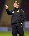 :: MOTHERWELL MANAGER STUART MCCALL  ::.11/05/2011 sct_jsp013_motherwell_v_kilmarnock     .Copyright  Pic : James Stewart.James Stewart Photography 19 Carronlea Drive, Falkirk. FK2 8DN      Vat Reg No. 607 6932 25.Telephone      : +44 (0)1324 570291 .Mobile              : +44 (0)7721 416997.E-mail  :  jim@jspa.co.uk.If you require further information then contact Jim Stewart on any of the numbers above.........