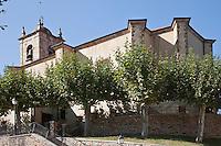 Europe/Espagne/Pays Basque/Guipuscoa/Goierri/Olaberria L'église de San Juan Bautista,