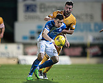 St Johnstone v Motherwell&hellip;17.12.16     McDiarmid Park    SPFL<br />Graham Cummins<br />Picture by Graeme Hart.<br />Copyright Perthshire Picture Agency<br />Tel: 01738 623350  Mobile: 07990 594431