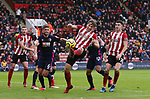 Sander Berge of Sheffield Utd in action during the Premier League match at Bramall Lane, Sheffield. Picture date: 9th February 2020. Picture credit should read: Chloe Hudson/Sportimage
