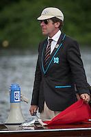 Henley Royal Regatta, Henley on Thames, Oxfordshire, 29 June-3 July 2015.  Thursday  10:40:29   30/06/2016  [Mandatory Credit/Intersport Images]<br /> <br /> Rowing, Henley Reach, Henley Royal Regatta.<br /> <br /> G W Hammond, Esq. Umpire
