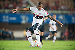 Jerome Boateng of Bayern Munich in action during the Bayern Munich vs Guangzhou Evergrande as part of the Bayern Munich Asian Tour 2015  at the Tianhe Sport Centre on 23 July 2015 in Guangzhou, China. Photo by Aitor Alcalde / Power Sport Images