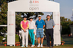 Golfers in action during the Am-Am ahead the UBS Hong Kong Open golf tournament at the Fanling golf course on 27 October 2015 in Hong Kong, China. Photo by Aitor Alcade / Power Sport Images