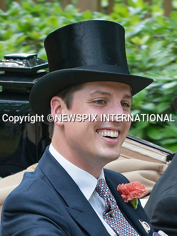 21.06.2017; Ascot, UK: JAKE WARREN<br /> travels in the royal procession to Royal Ascot.<br /> Mandatory Credit Photo: &copy;Dias/NEWSPIX INTERNATIONAL<br /> <br /> IMMEDIATE CONFIRMATION OF USAGE REQUIRED:<br /> Newspix International, 31 Chinnery Hill, Bishop's Stortford, ENGLAND CM23 3PS<br /> Tel:+441279 324672  ; Fax: +441279656877<br /> Mobile:  07775681153<br /> e-mail: info@newspixinternational.co.uk<br /> Usage Implies Acceptance of OUr Terms &amp; Conditions<br /> Please refer to usage terms. All Fees Payable To Newspix International