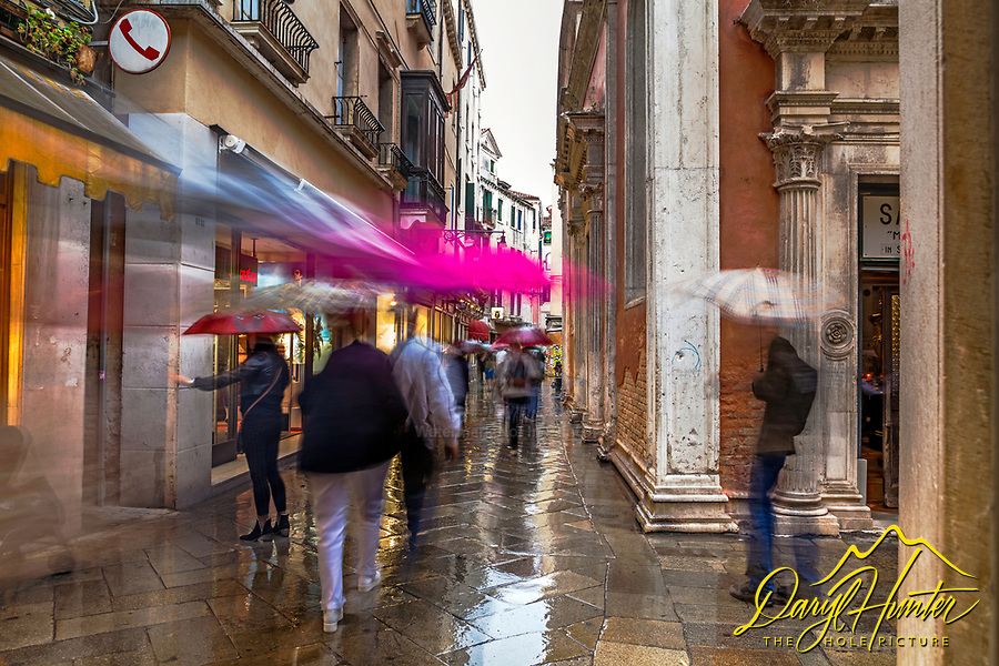 Venetian  Rain, Venice Italy