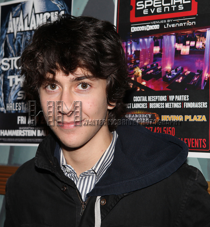 Nat Wolff attending The 24 Hour Musicals After Party at the Gramercy Theatre in New York City.