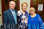 Freddie and Noreen O'Connor with Noreen Dennehy attending the Senior Citizens party in John Mitchels on Saturday.