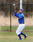 BROOKINGS, SD - MAY 4: Right fielder Scott Splett #7 from South Dakota State catches a fly ball against Nebraska Omaha in the third inning Sunday afternoon at Erv Huether Field in Brookings. (Photo by Dave Eggen/Inertia)