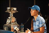 OLYMPIA FIELDS, IL - July 02: Champion, Danielle Kang of the United States poses for a photo with the trophy after winning the 2017 KPMG Women&rsquo;s PGA Championship held at Olympia Fields Country Club on July 02, 2017 in Olympia Fields, Illinois. <br /> Photo by: Golffile | Montana Pritchard/PGA of America<br /> <br /> Images must display mandatory copyright credit - (Copyright: Montana Pritchard | PGA of America | Golffile)